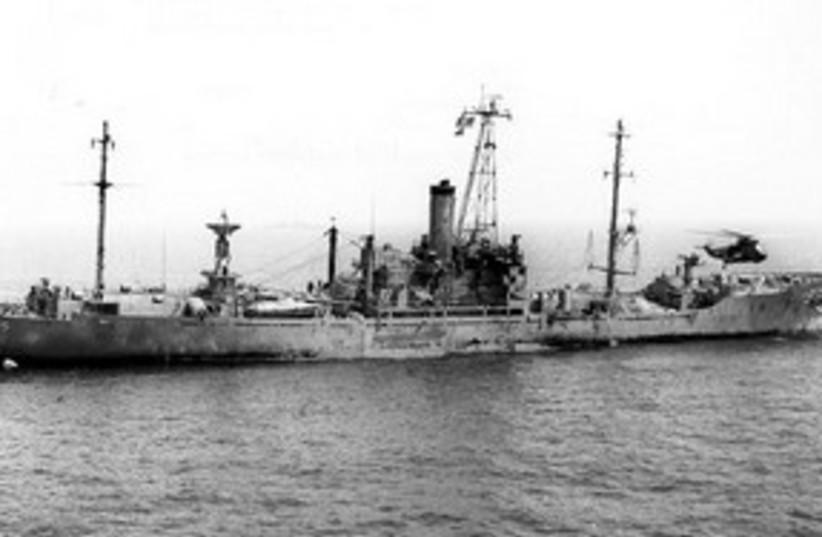USS Liberty_311 (photo credit: US Navy)