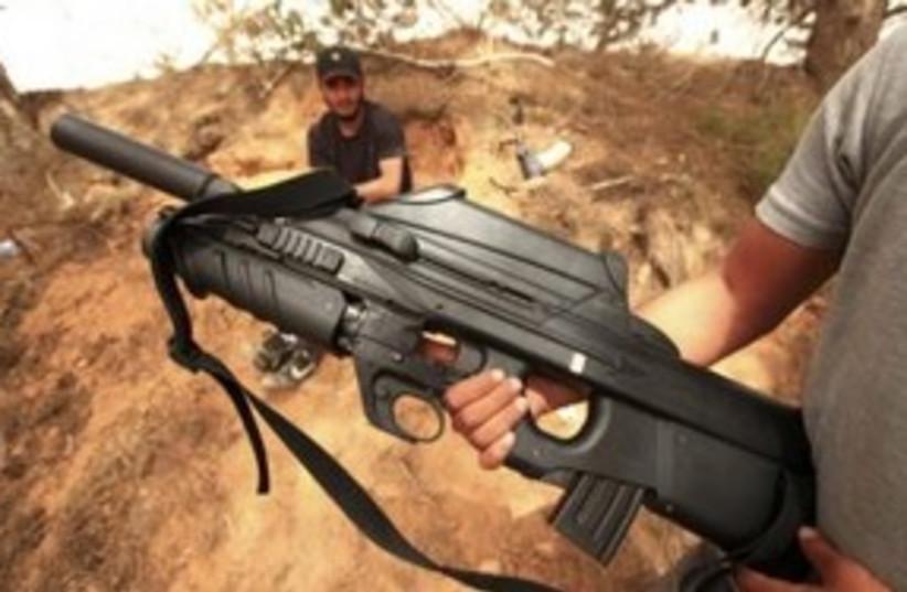 Libyan Rebel Misrata 311 (photo credit: REUTERS)