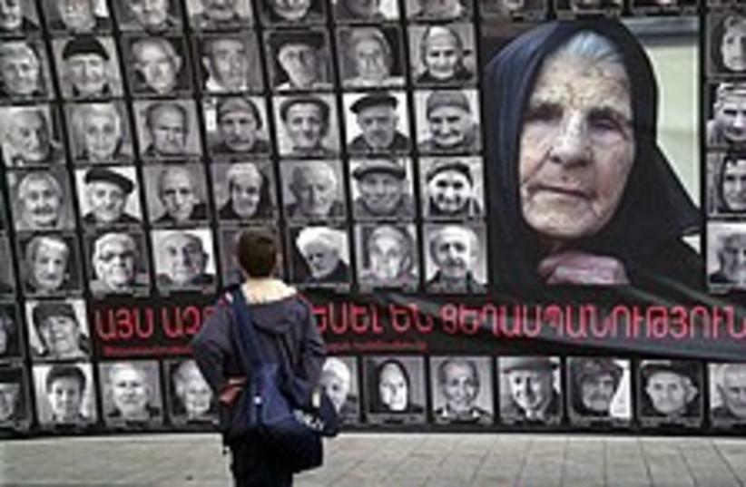 armenian genocide 224 88 (photo credit: AP [file])