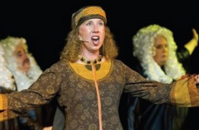 GAYLE BERMAN is Devora in 'JUDGE!' 311 (photo credit: Rebecca Kowalsky)