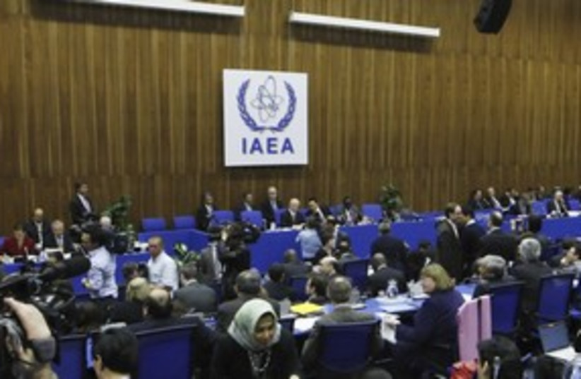 IAEA meeting_311 (photo credit: Stringer Austria / Reuters)