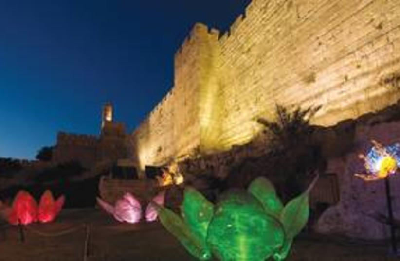 Jerusalem Old City Jaffa Gate 311 (photo credit: Yehoshua Halevi)