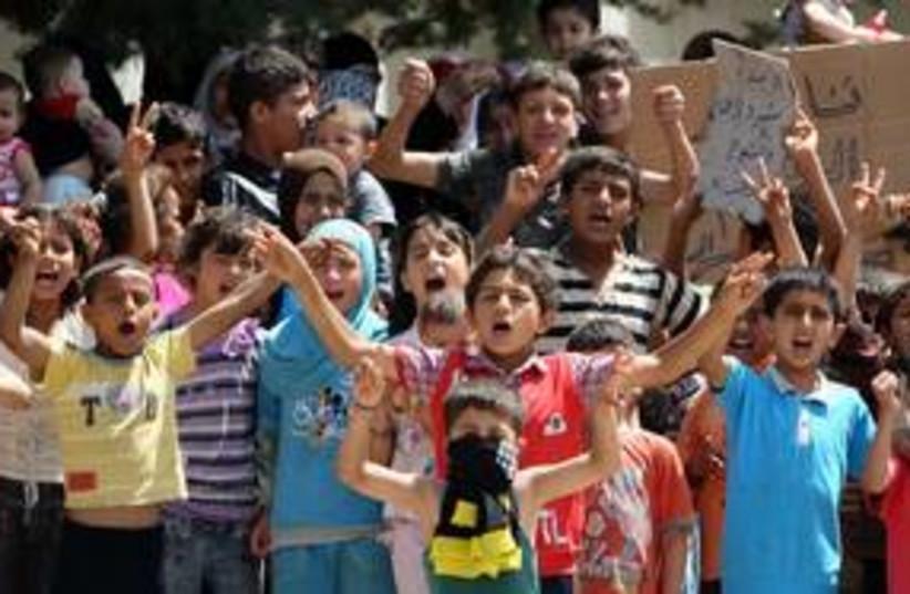 Syrian Children in Turkey_311 (photo credit: Reuters)