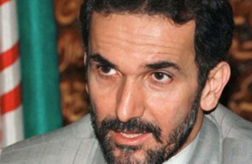 Mehdi Akhoundzadeh_311 reuters (photo credit: Muzammil Pasha / Reuters)