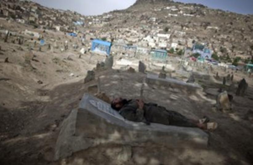 Afghan cemetary_521 (photo credit: Ahmad Masood / Reuters)