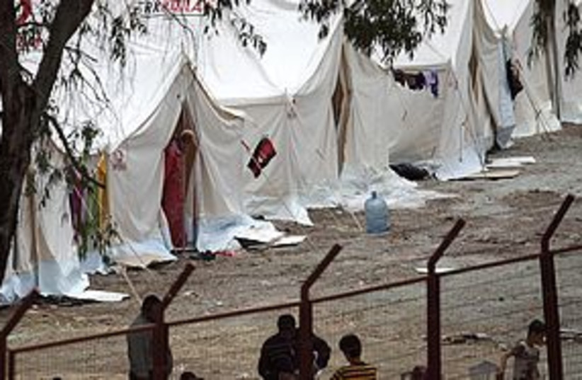 Syrian Refugee Camp in Turkey 311 (photo credit: REUTERS)