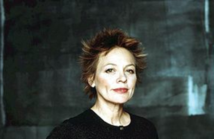 Laurie Anderson 311 (photo credit: courtesy)
