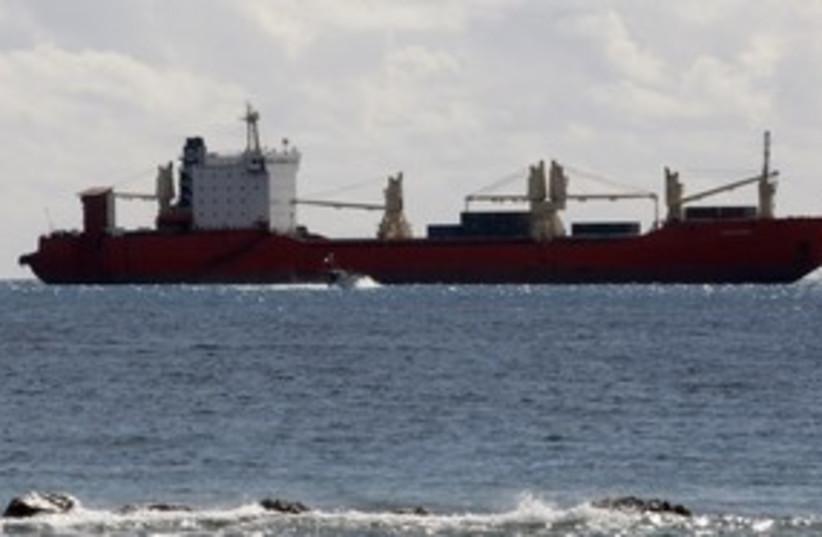 [illustrative photo] Ship at sea 311 (R) (photo credit: Andreas Manolis / Reuters)