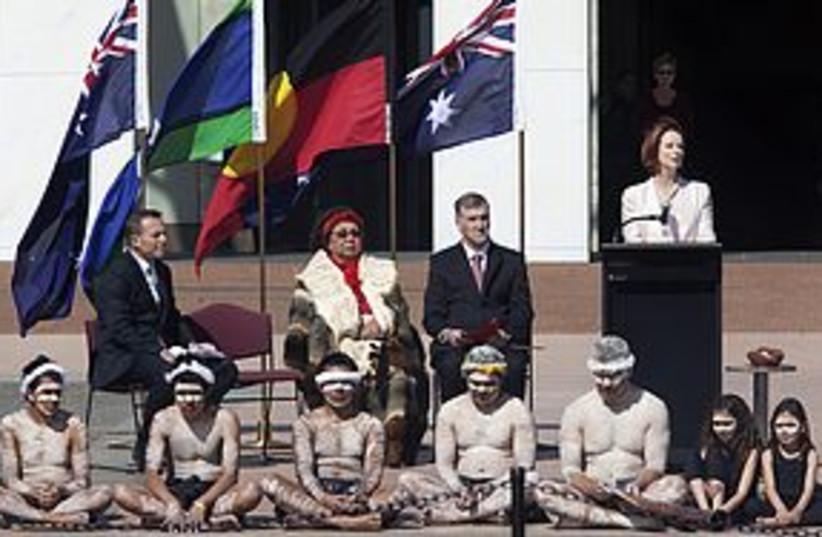 Indigenous australians 311 (photo credit: REUTERS)