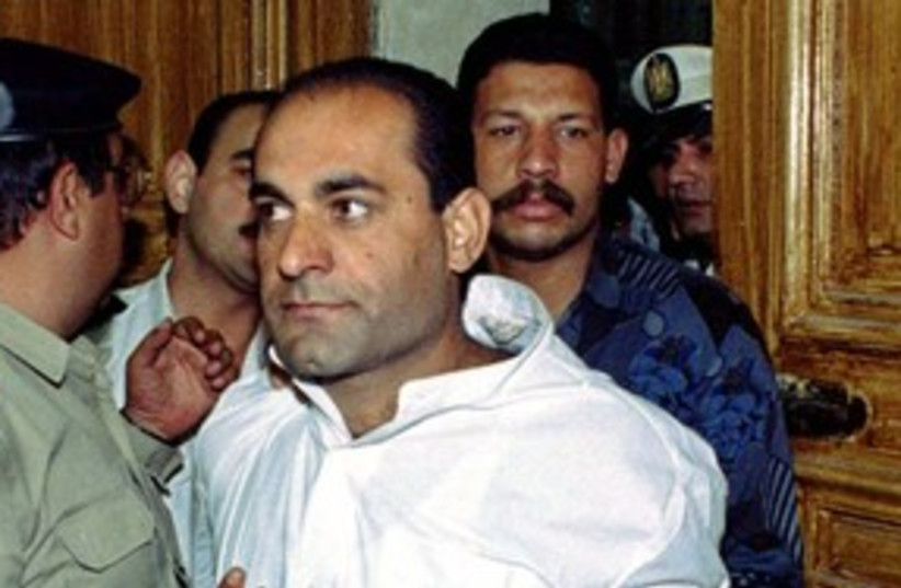 Israeli Druse man Azzam Azzam in Egyptian court 311 (R) (photo credit: Reuters)