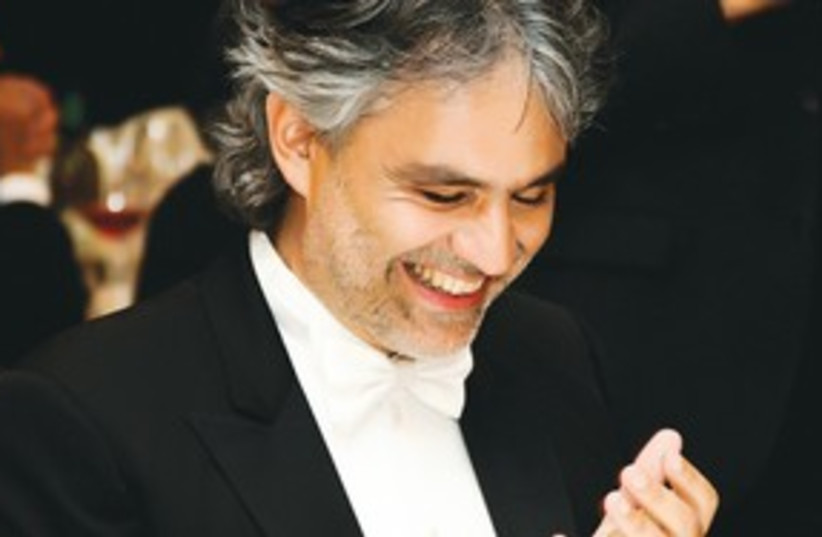 Andrea Bocelli (photo credit: Courtesy)