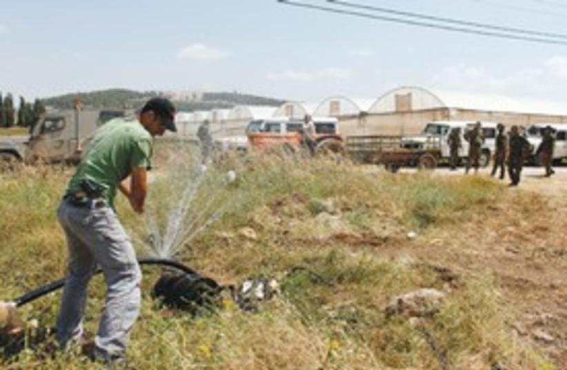water crisis (photo credit: REUTERS)