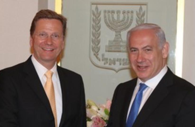 westerwelle and netanyahu_311 (photo credit: Moshe Milner / GPO)