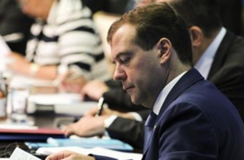 Russian President Dimitri Medvedev_311 (photo credit: Reuters)