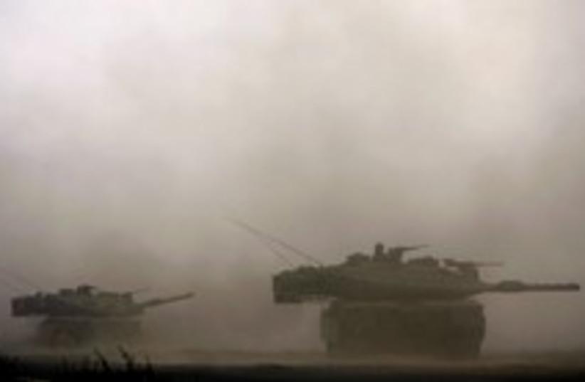 gaza tanks 224 (photo credit: AP)