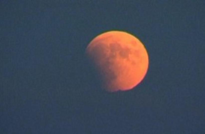 lunar eclipse (photo credit: REUTERS)