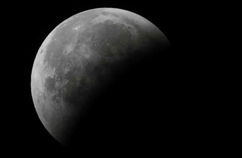 The eclipse seen from Ahmedabad in India