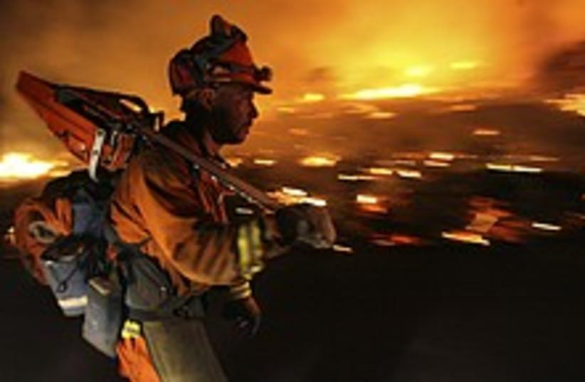 Calif fires 224.88 (photo credit: )