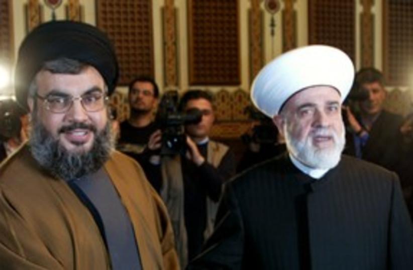 Sheikh Mohammed Rashid Qabbani (photo credit: Reuters)