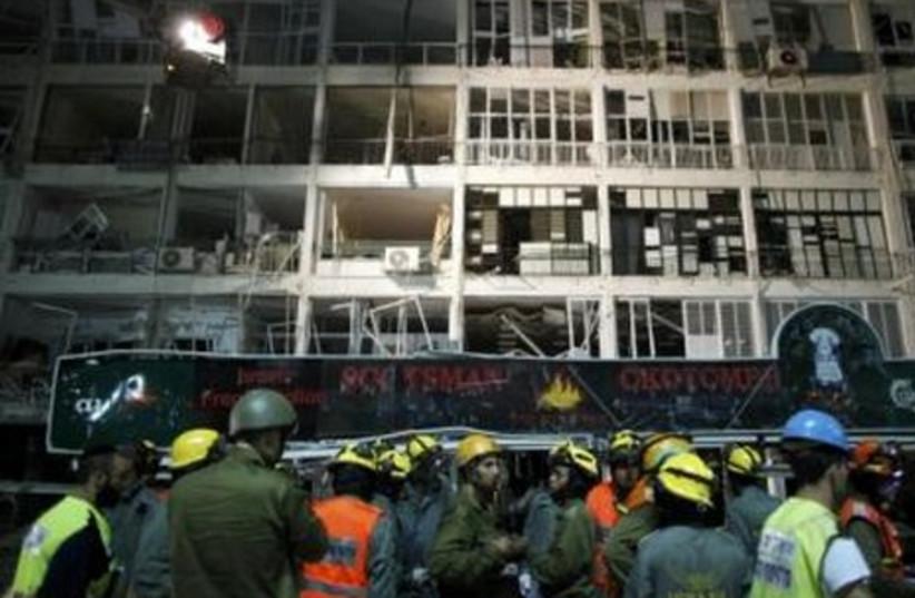 Gas explosion in Netanya