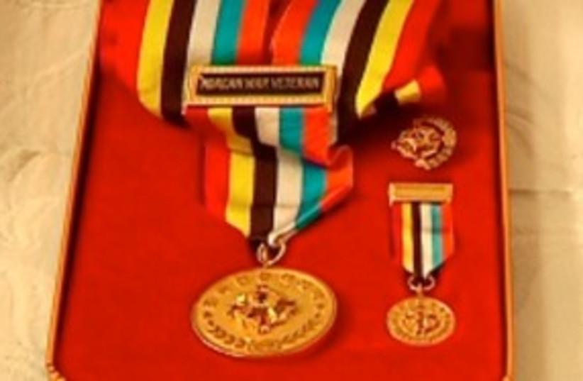 Jewish Korean War veterans medal_311 (photo credit: Korean Embassy in Israel)