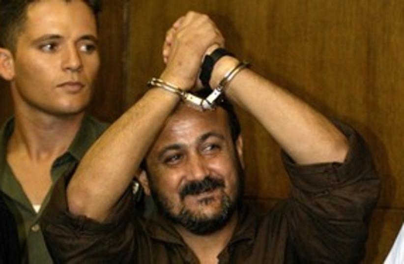 Jailed Fatah member Marwan Barghouti 311 (photo credit: Oleg Popov / Reuters)
