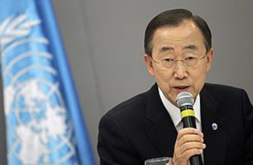 Ban Ki-Moon 311 Reuters (photo credit: REUTERS)