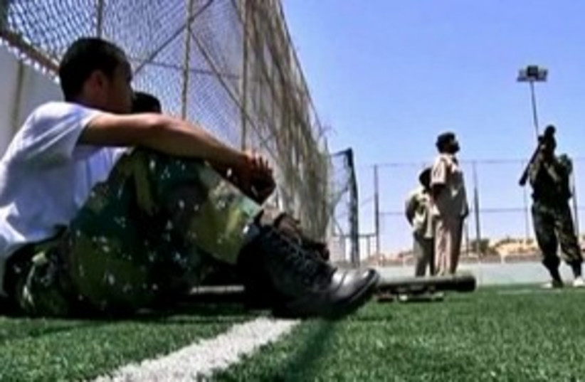 libyan rebels boot camp_311 (photo credit: REUTERS)