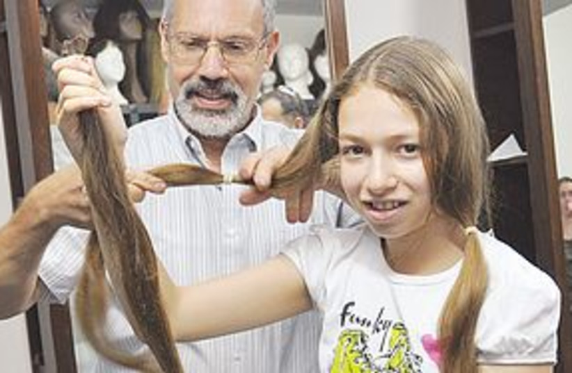 hair donation 311 (photo credit: courtesy)