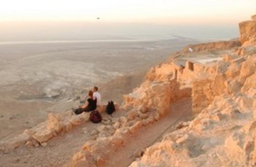 View from Masada 311 (photo credit: Joe Yudin)
