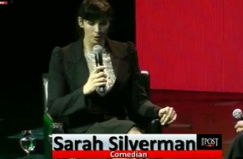 Sarah Silverman 311 (photo credit: JPOST.COM STAFF)