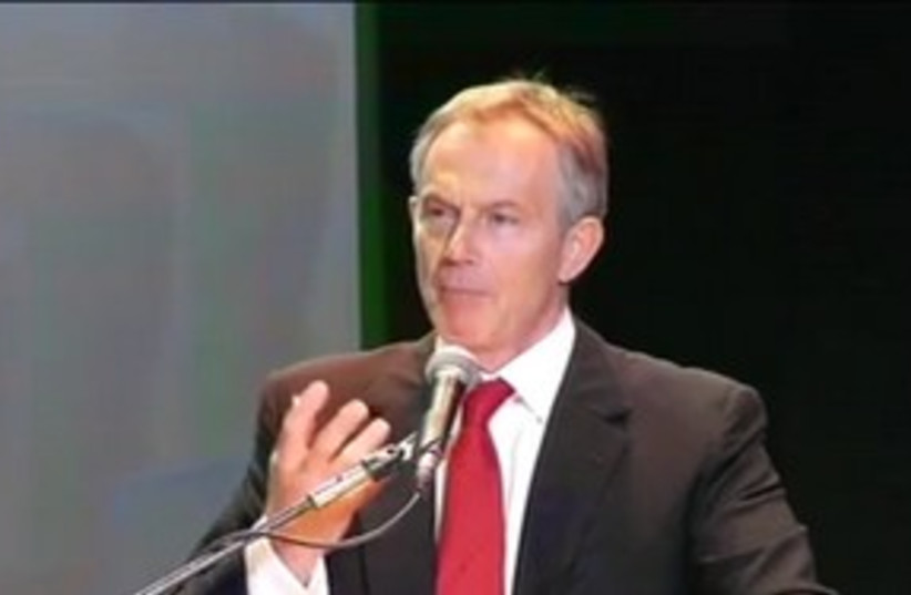 tony blair presidential conference 2009 (photo credit: Courtesy)