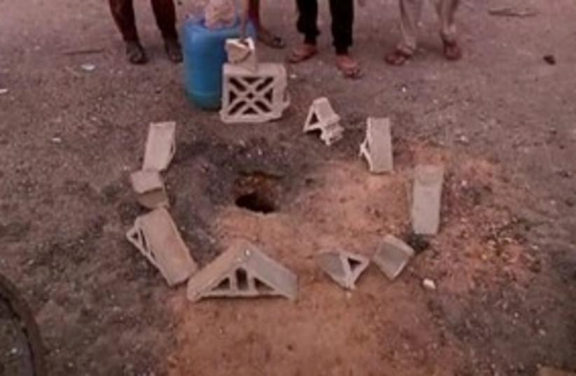 Misrata bombing 311 R (photo credit: REUTERS)