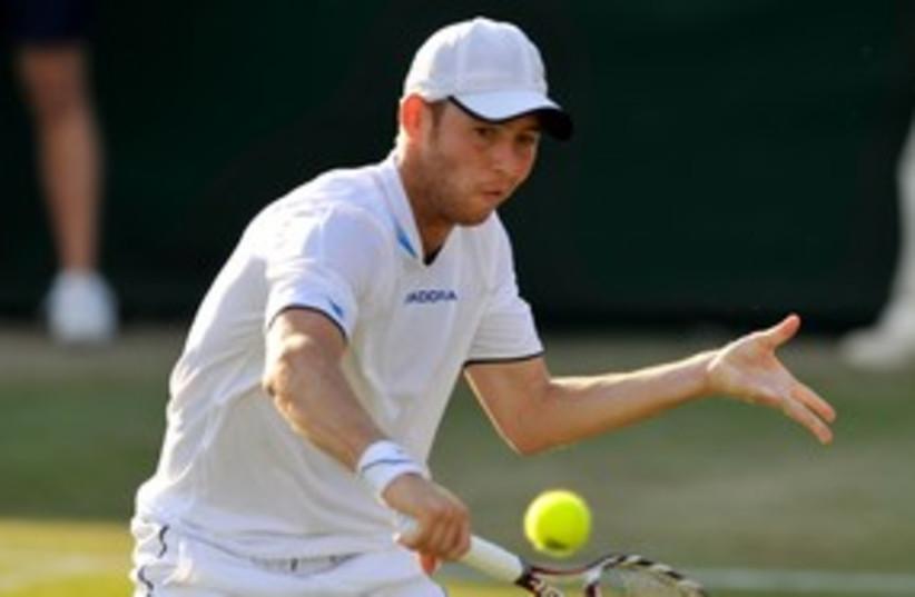 Dudi Sela at Wimbledon 311 (R) (photo credit: Reuters)