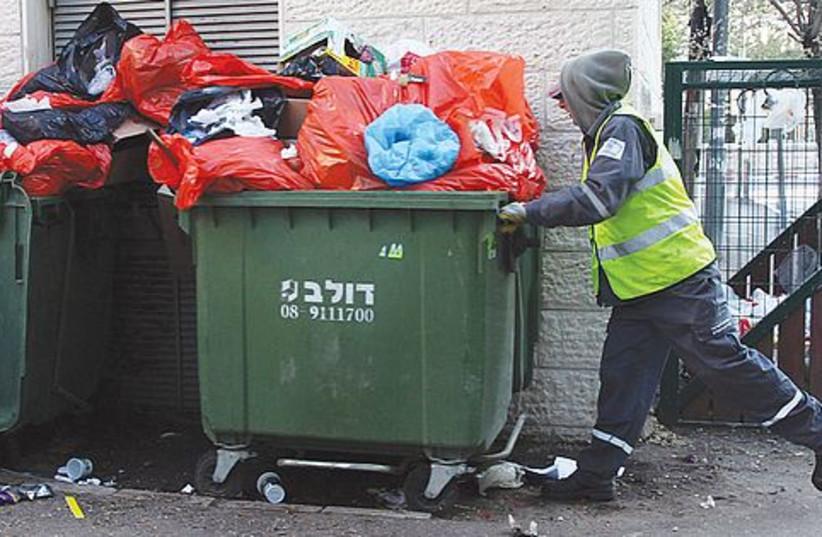 trash collection 521 (photo credit: Marc Israel Sellem)