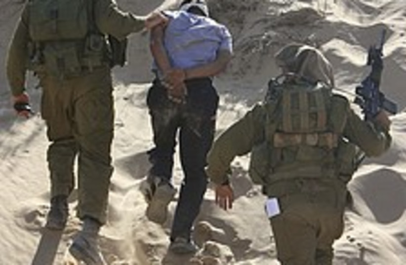 Gaza arrest 224.88 (photo credit: AP)