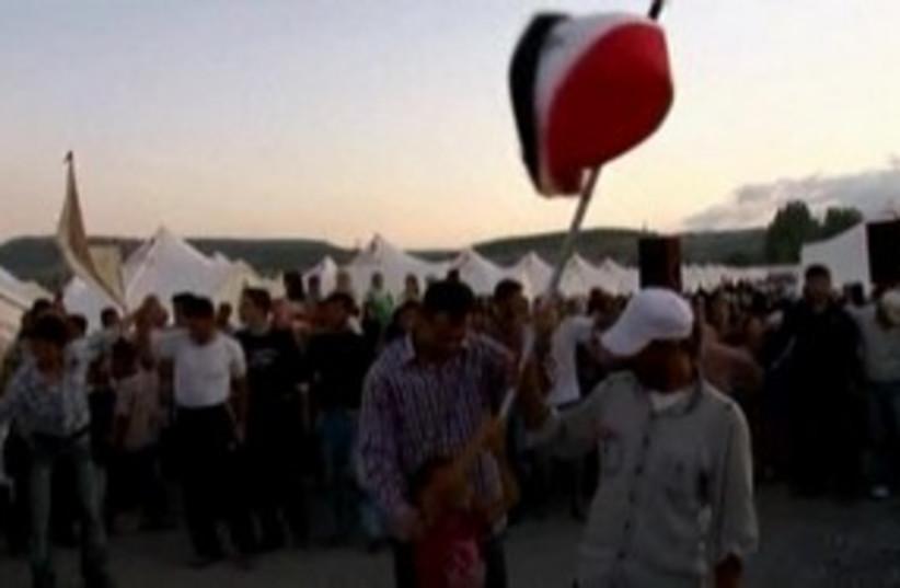 Refugee wedding in Turkey 311 R (photo credit: REUTERS)