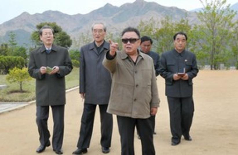 Kimg Jong Il 311 R (photo credit: REUTERS)