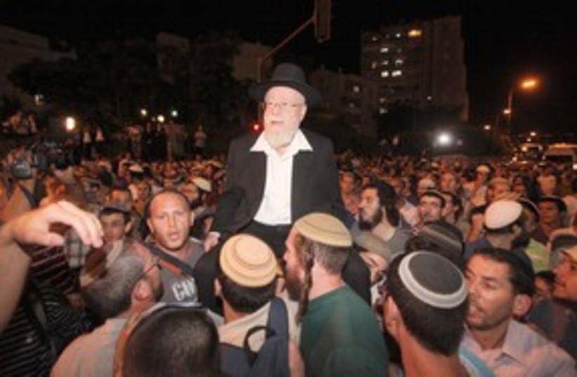 Kiryat Arba Chief Rabbi Dov Lior 311 (photo credit: Marc Israel Sellem)