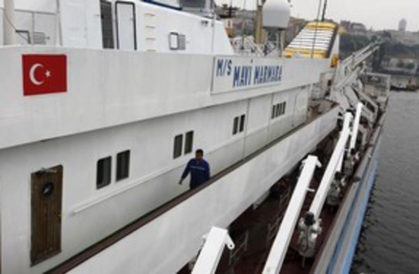 mavi marmara flotilla_311 reuters (photo credit: Osman Orsal / Reuters)