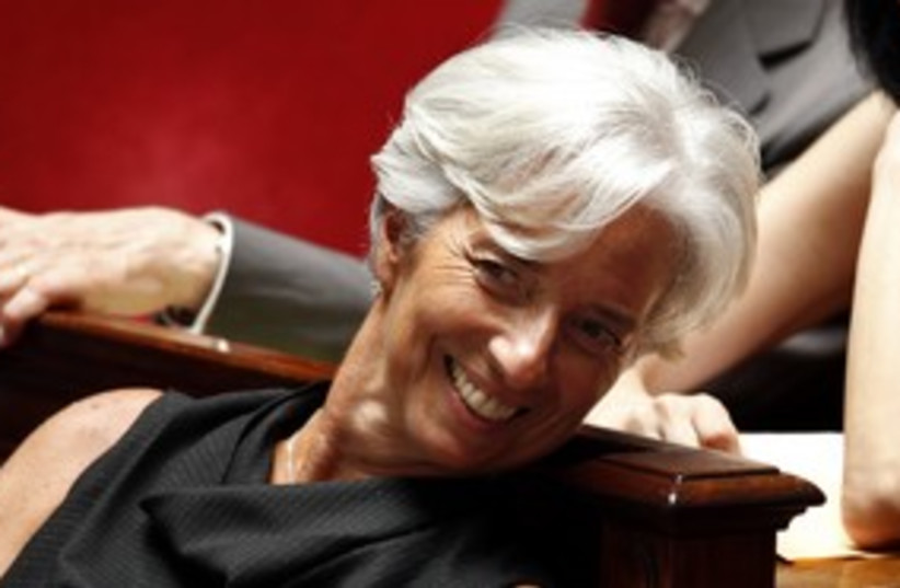 IMF chief Lagarde_311 (photo credit: Reuters)