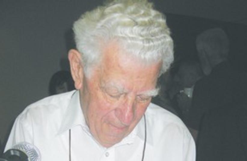 Rabbi Richard G. Hirsch 311 (photo credit: Courtesy)