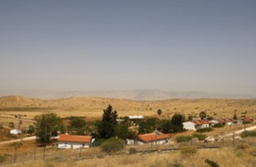 Jordan valley settlement 311 (photo credit: REUTERS)