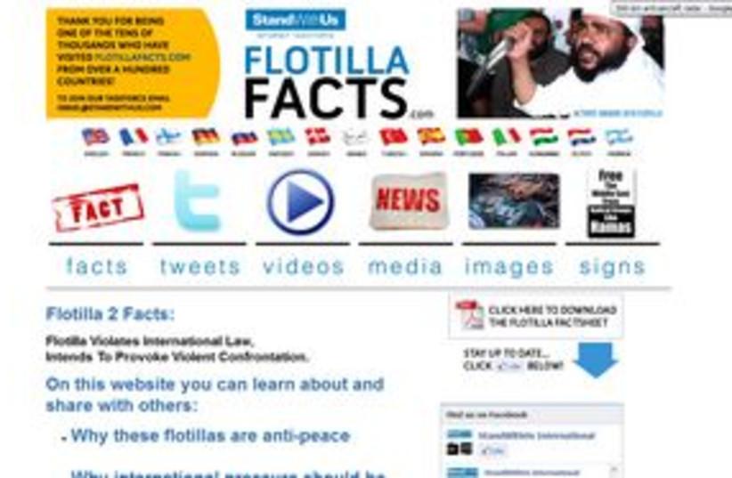 flotilla facts 311 (photo credit: screen shots)