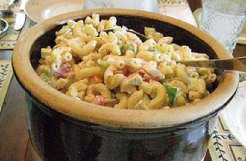Pasta salad 311 (photo credit: Wiki Commons)