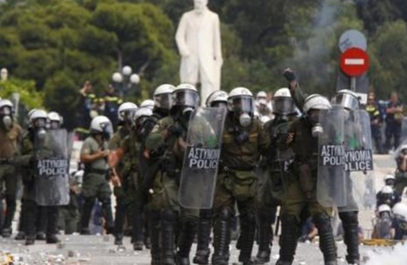 Greeks riot over austerity measures