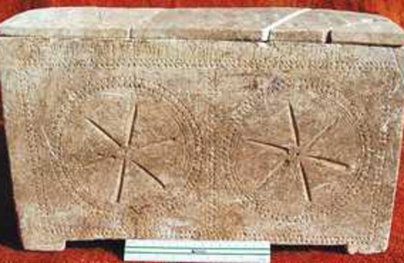 2,000 year old ossuary_311 (photo credit: Antiquities Authority)