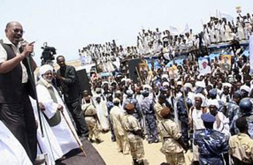 Sudan President Bashir 311 R (photo credit: REUTERS)