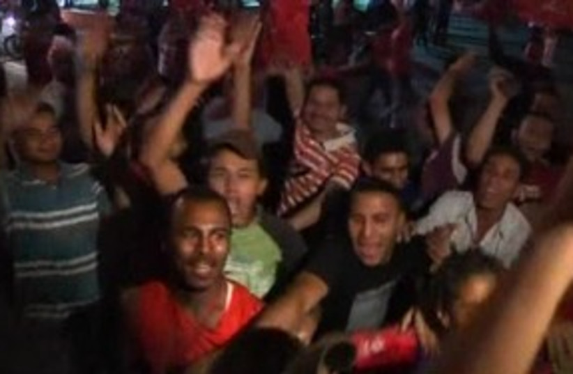 Egypt football fans 311 R (photo credit: REUTERS)