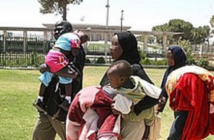 sudanese refugees 224.88 (photo credit: Ariel Jerozolimski [file])